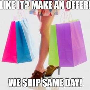 Open to All Offers- Ship Same day except Sunday